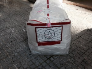 Lightweight spinnaker bag for TP 52