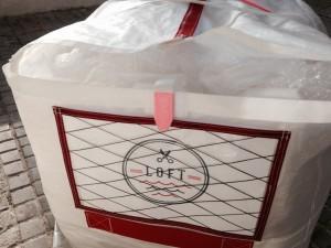 Detailing - lightweight spinnaker bag for TP 52