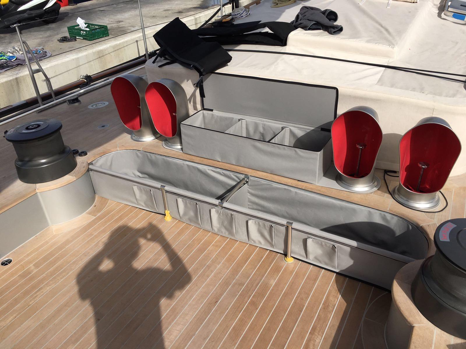J S1 SVEA - Partitioned Cockpit Bag for sheet tails